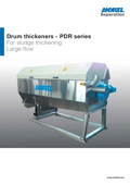 ANDRITZ SEPARATION<br />Drum thickeners - PDR series