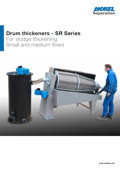 ANDRITZ SEPARATION<br />Drum thickeners - SR series